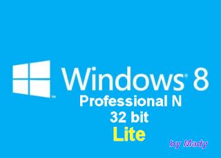 Windows 8 Pro N x86 Lite