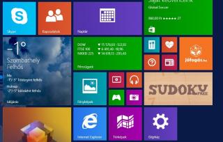 [Windows 8.1] Gépház csempe a kezdőképernyőre, hogyan?