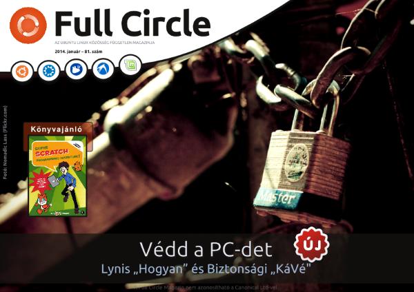 Full Circle Magazin újabb magyar részekkel