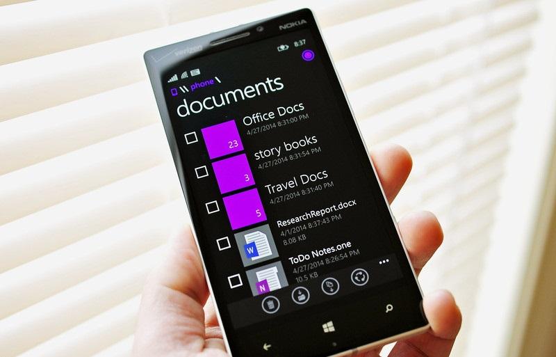 Hamarosan jön fájlkezelő Windows Phone-ra!