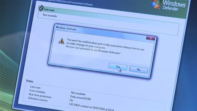 [Hogyan] Távolítsuk el a Windows Defendert Windows 7 alól