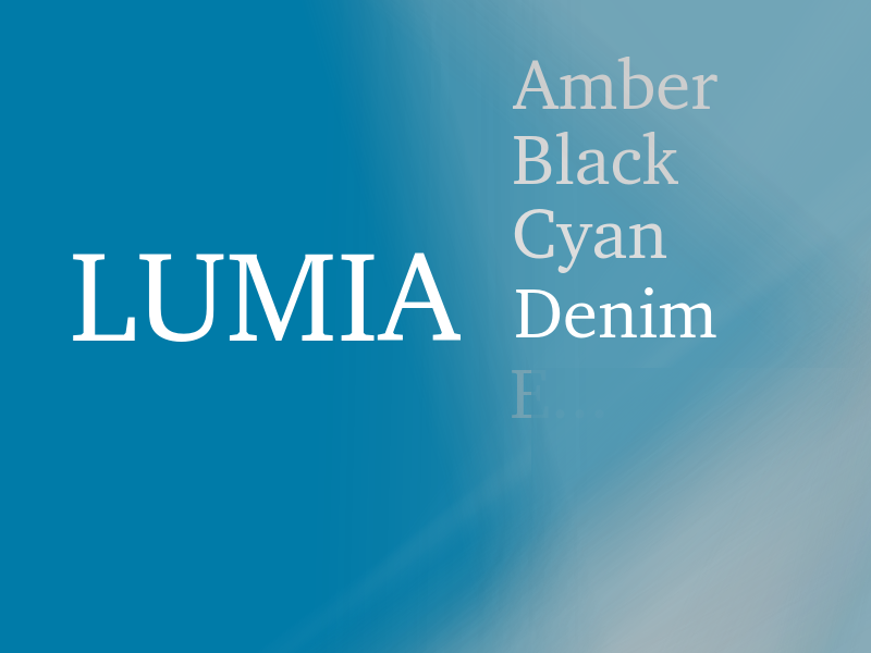 Itt a Lumia Denim