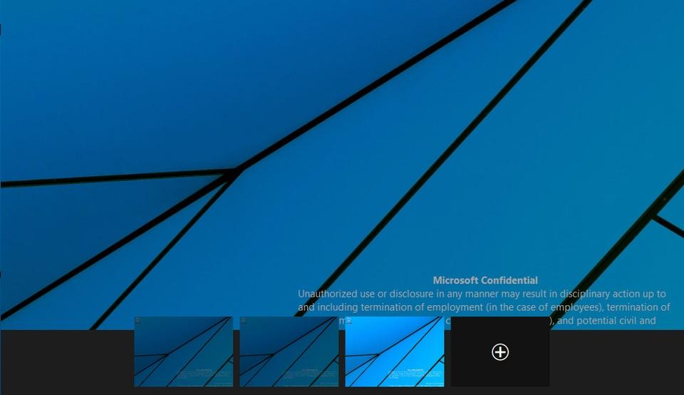 Így működik a virtuális asztal Windows Technical Preview alatt