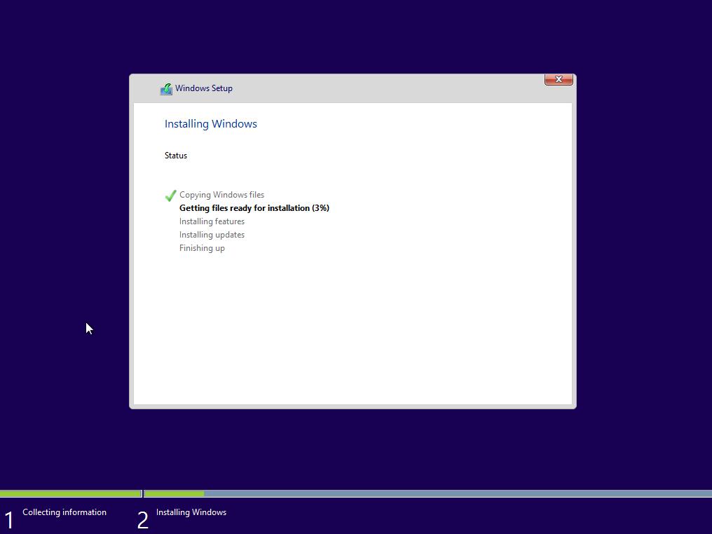 [Windows 10] ...és feltelepítjük a rendszert!