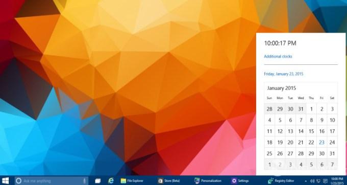 [Windows 10] Hogyan varázsoljuk elő az új naptárat a tálcáról