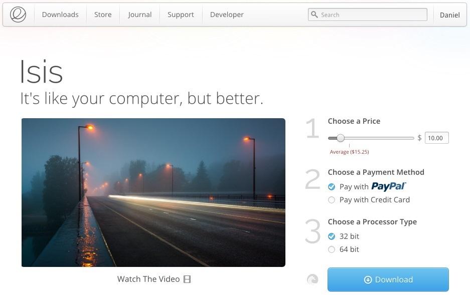 Ha ingyen töltötted az Elementary OS-t, akkor megkárosítottad a fejlesztőket?