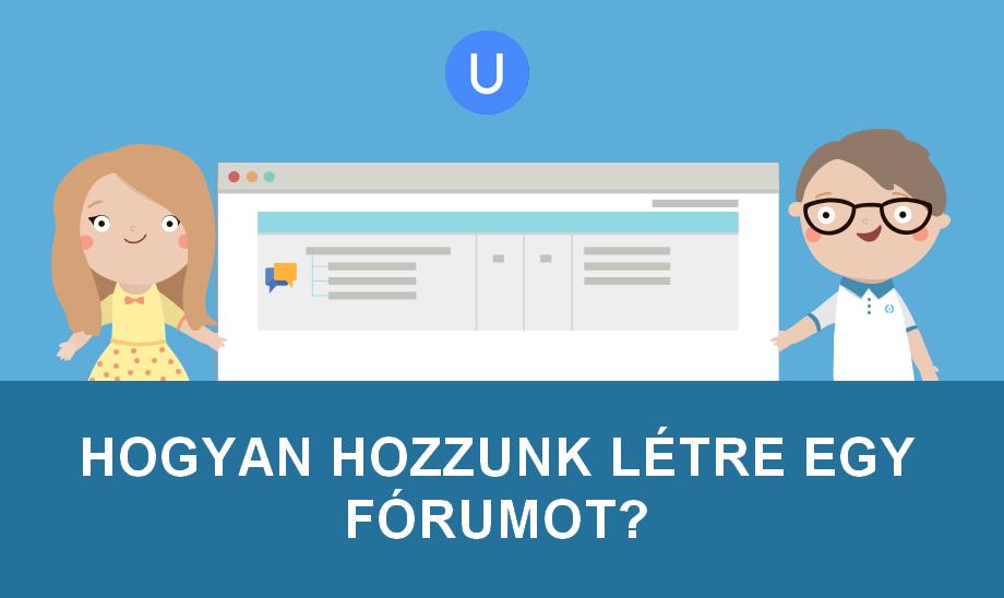 Hogyan hozzunk létre egy fórumot? (1. rész)