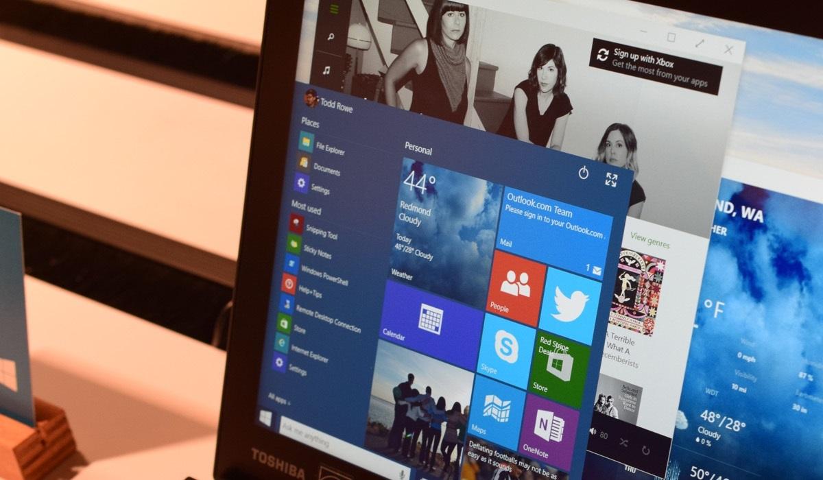 Windows 10 Build 10036, mély változások, újdonságok