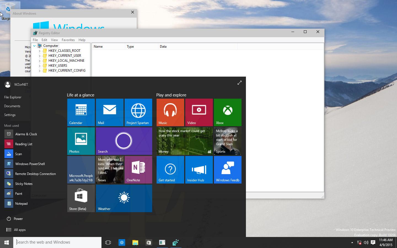 Már közel a kész Windows 10