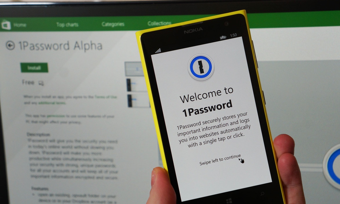 Megjelent a 1Password Alpha Windows és Windows Phone eszközökre