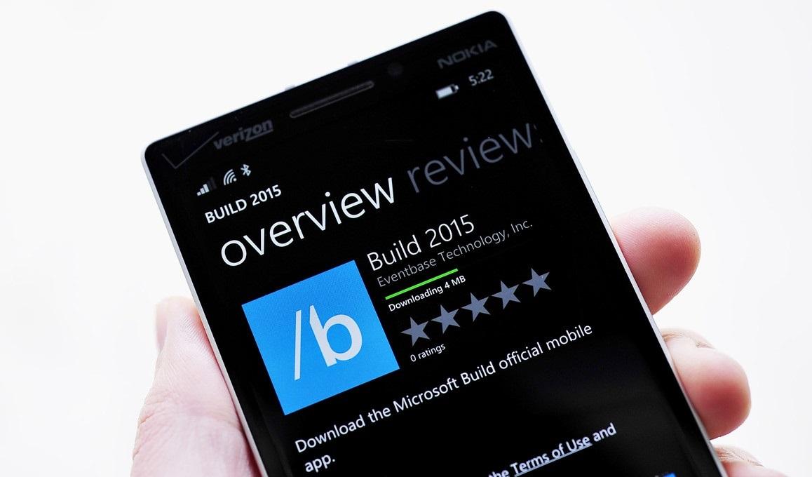 Elérhető a BUILD 2015 események app!