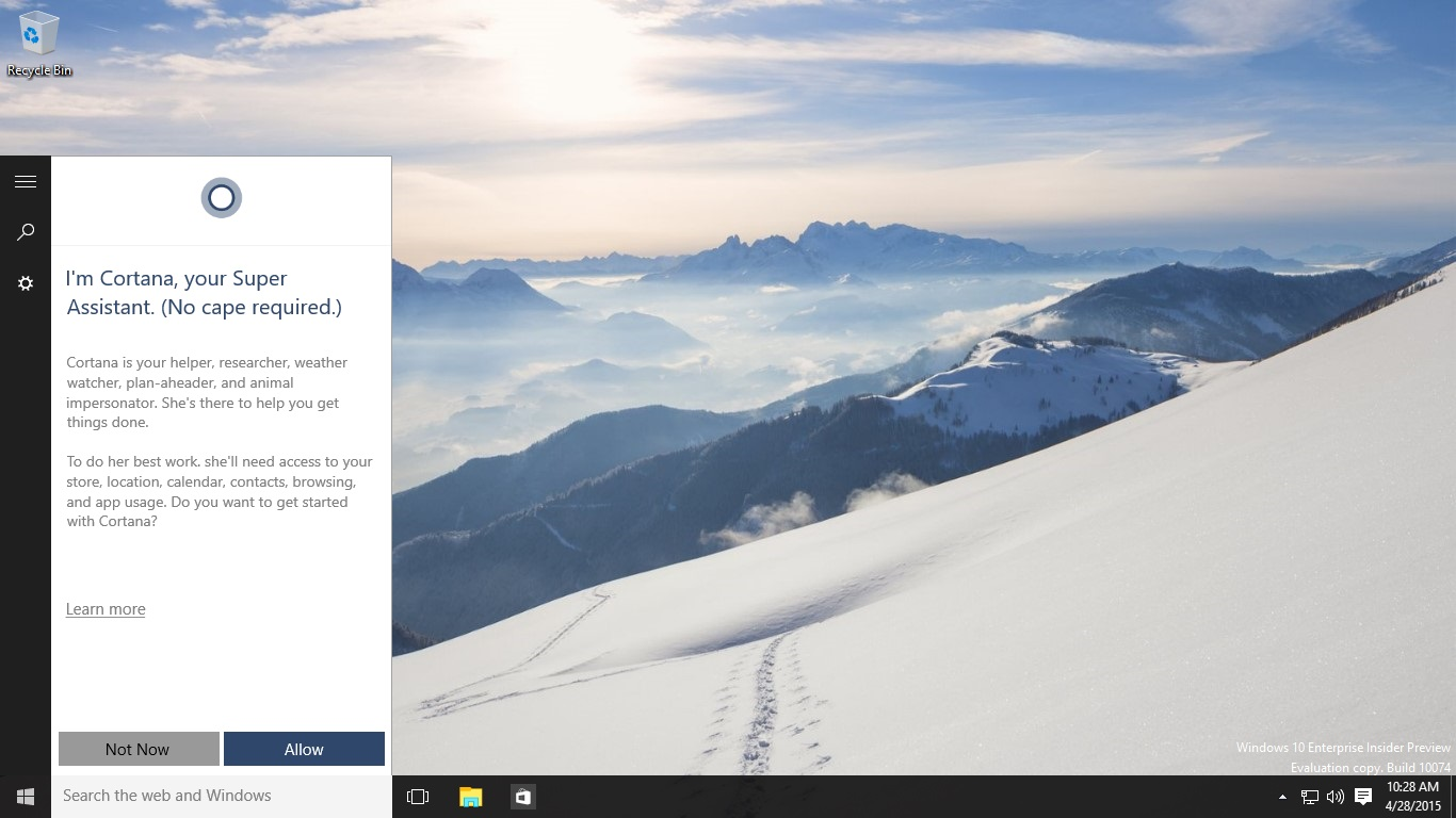 Letölthető a Windows 10 Build 10074 Insider Preview ISO