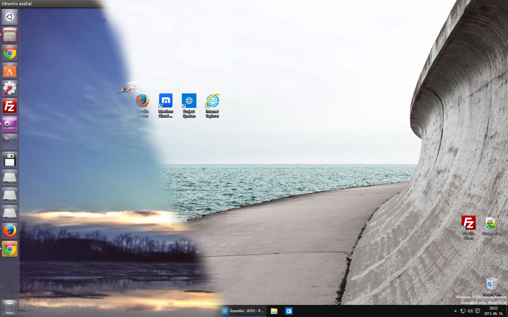 Felhasználói mappák egyesítése Windows és Ubuntu alatt