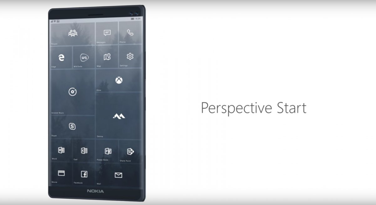 Egy újabb Windows 10 mobil koncepció