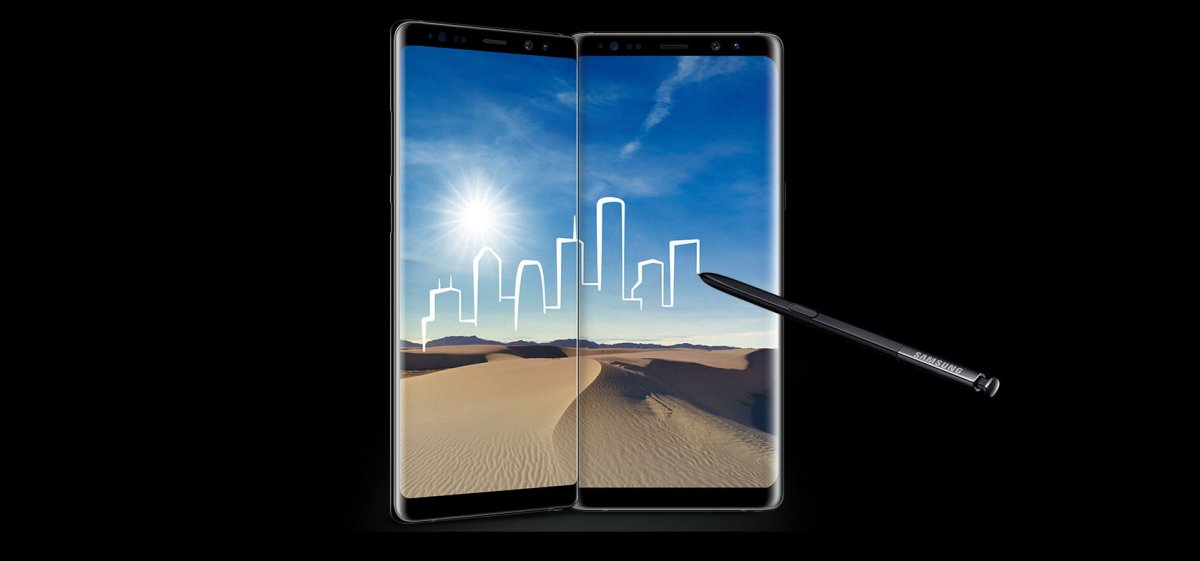 Itt a Samsung Galaxy Note8