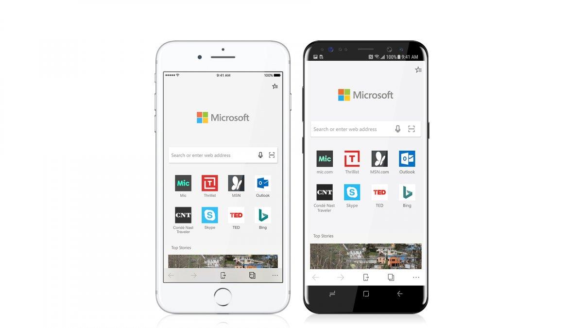 Jön a Microsoft Edge Androidra és iOS-ra is