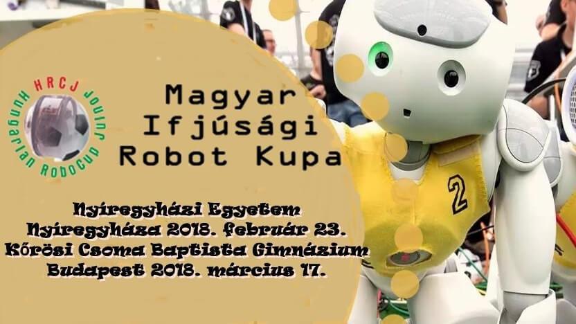 Öt versenyszámban nevezhetnek az ifjú robotépítők az idei Magyar Ifjúsági Robot Kupában