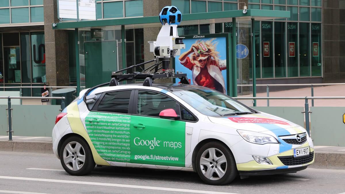 Frissül a Google Street View