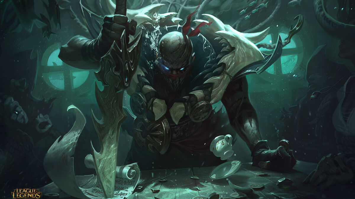 League of Legends : Pyke A Vérkikötői Gyilkos
