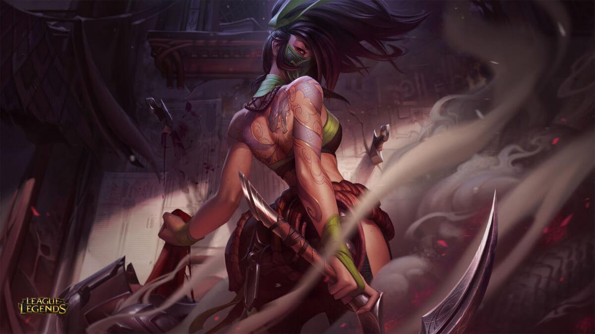 League of Legends : Hősfrissítés - Akali, a zsivány Orgyilkos