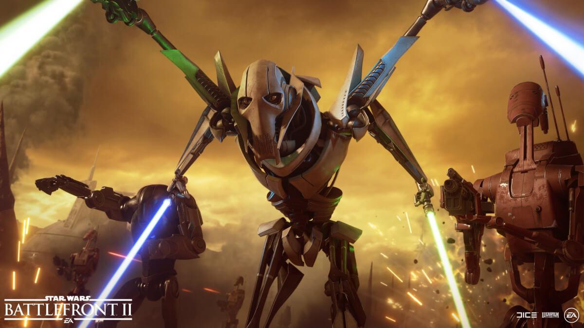 Star Wars Battlefront II - Részletek Grievous tábornokról és a geonózisi csatáról!