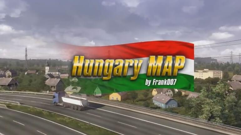 Irány Magyarország! - ETS2 Hungary Map telepítése