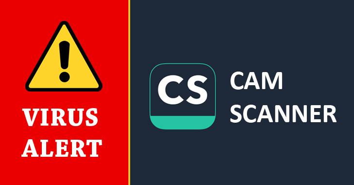 Kaspersky szerint a CamScanner veszélyes vírust tartalmaz