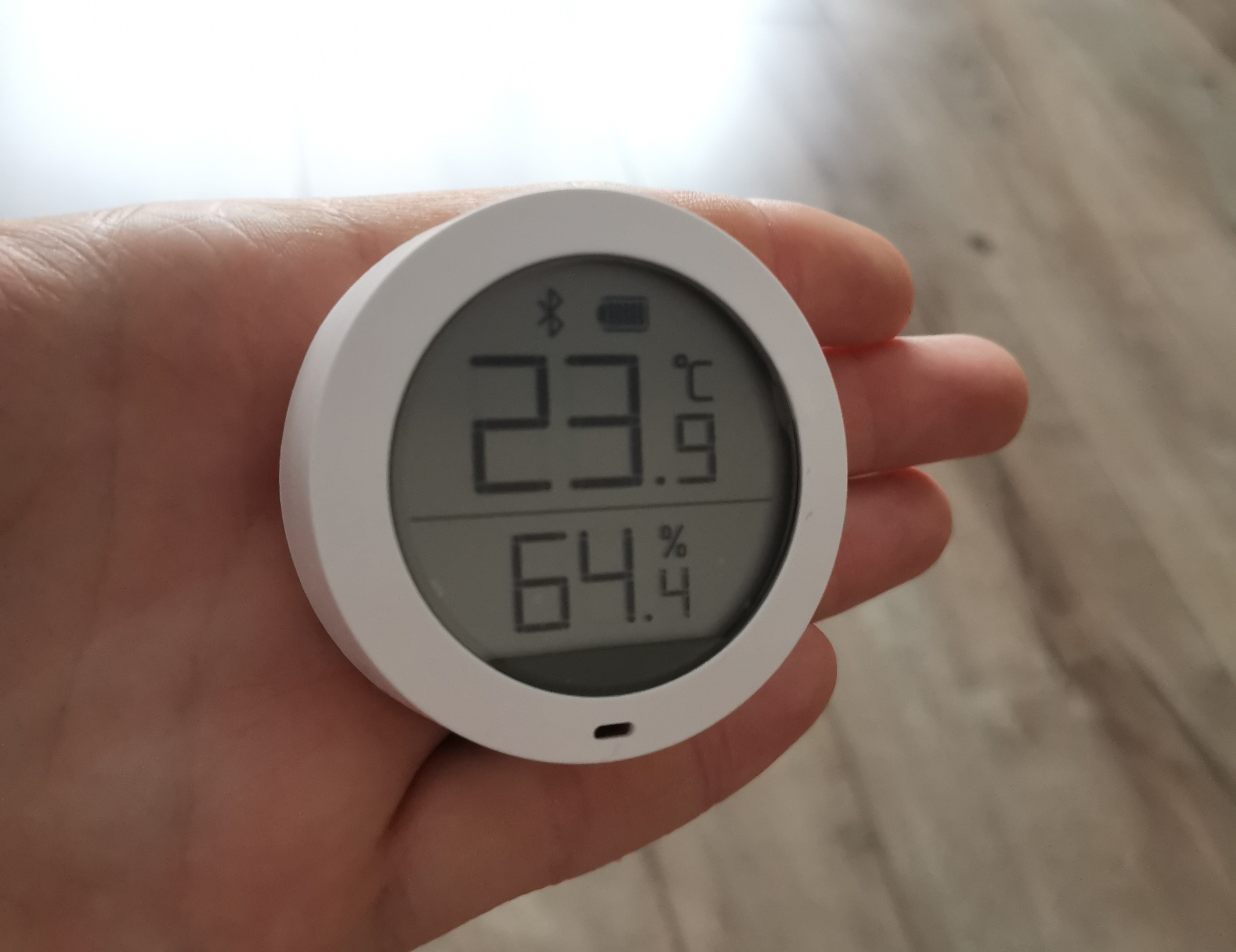 Elegáns, pontos: ez a Xiaomi Mi Temperature and Humidity Monitor