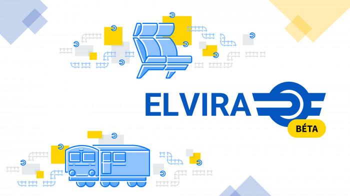 Kipróbálható a Máv-Start utazástervezőkének, az Elvirának az új verziója