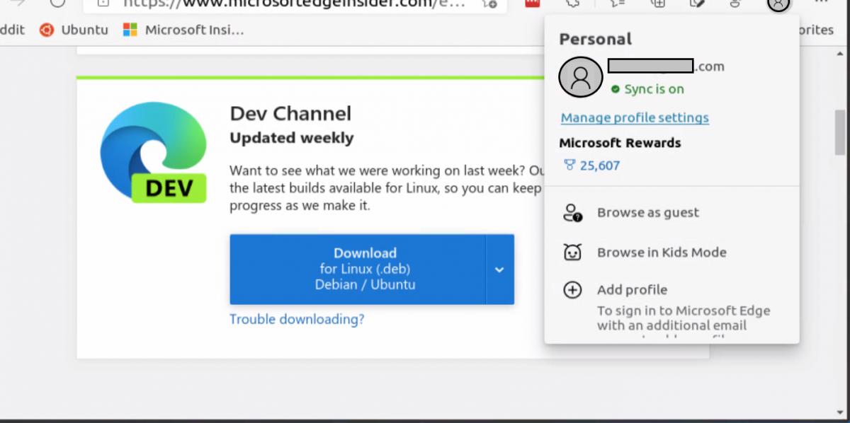 Régóta várt frissítés érkezett a Linuxra szánt Microsoft Edge Dev-re