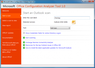 Office Configuration Analyzer Tool